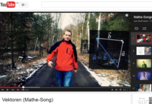 Sreenshot vom Mathe-Song-Video Dorfuchs
